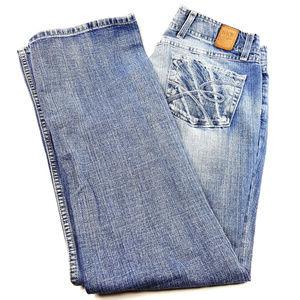 BKE Denim Wendi Size 30X31.5 Cotton Distressed